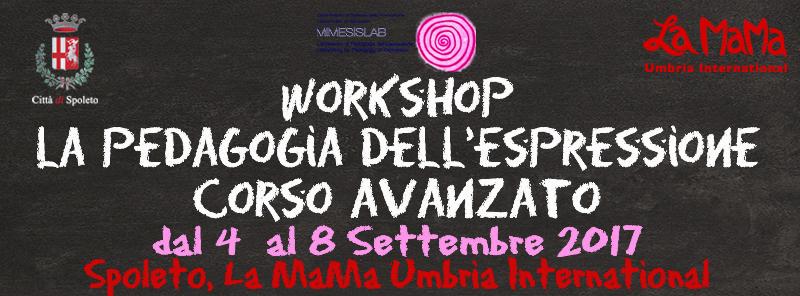 Workshop Pedagogia dell'Espressione - Corso Avanzato